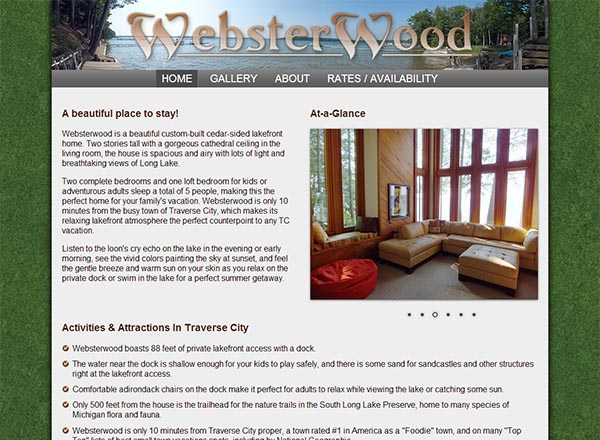 WebsterWood Vacation Rental
